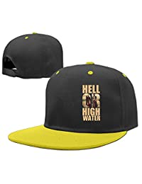 ACMIRAN Hell Or High Water One Size Pure Cotton Child Baseball Cap RoyalBlue