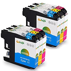 Gohepi Ersatz Für Brother Lc223 Farbe Druckerpatronen Kompatibel Für