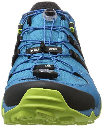 adidas Terrex Swift R, Scarpe da Escursionismo Uomo Multicolore (Mystery Petrol/Core Black/Semi Solar Yellow)