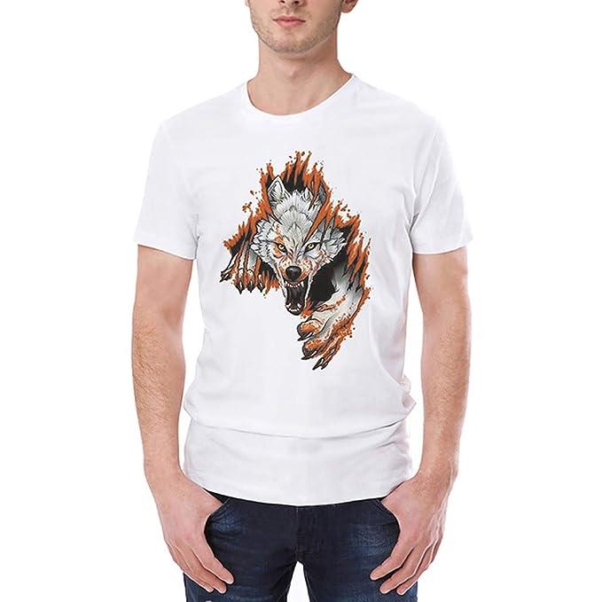 Manadlian_Camiseta Hombres Manga Corta, Moda Camisetas Hombre Manga Corta Verano Que Imprimen Camisetas Camisas Blusa Tops: Amazon.es: Ropa y accesorios