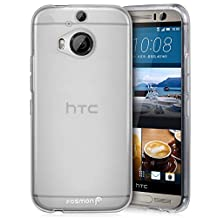 Fosmon HTC One M9+ Case (DURA-FRO) Slim-Fit Flexible TPU Gel Case Cover for HTC One M9+ - Fosmon Retail Packaging (Clear)