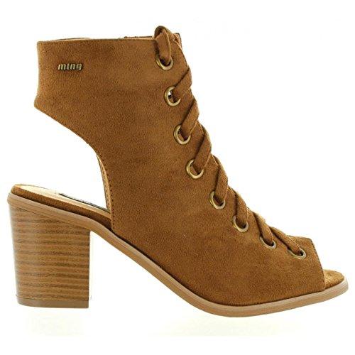 C15217 Tacón Cuero Micro Mujer 53542 Zapatos Mtng De 5zCx0q7wX