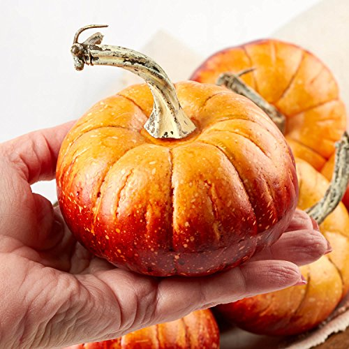 Factory Direct Craft Package of 6 Rustic Artificial Pumpkins for Halloween, Fall and Thanksgiving Decorating by Factory Direct Craft (Image #2)