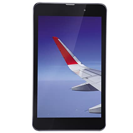 iBall Slide Wings 4GP Tablet (8 inch, 16GB, Wi-Fi + 4G LTE, Voice Calling), Silver Chrome Tablets at amazon