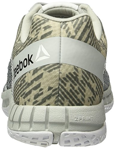 Skull Grey Zapatillas de Reebok Alloy Run Gris Zprint Mujer Running Hazard White GP xwazOavq