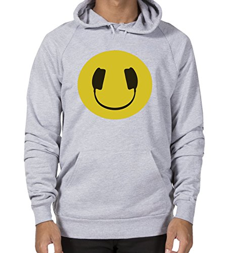 Yellow Headphones - Funny and Stylish Unisex Hoodie! Great Present!