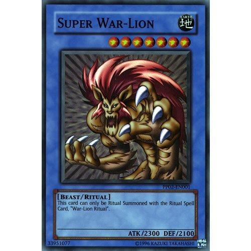 1 Super War-Lion Secret Rare Card - ( Premium Pack 2 YuGiOh Single Card ) by Deckboosters (War Single Cards)