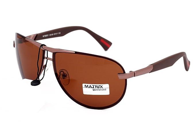 Matrix Drive - Gafas de sol - para hombre Marrón marrón M