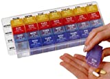 Ezy Dose 4 a Day Weekly Med-control Tray, Health Care Stuffs