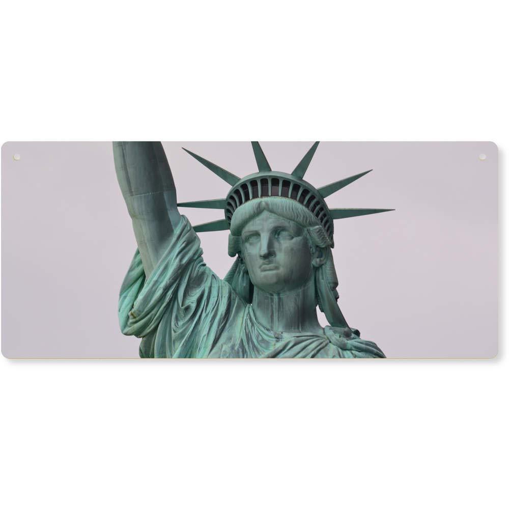 18c5b438792b Azeeda Estatua de la Libertad Grande Placa de Pared de Madera DP00006464  Decoración del hogar