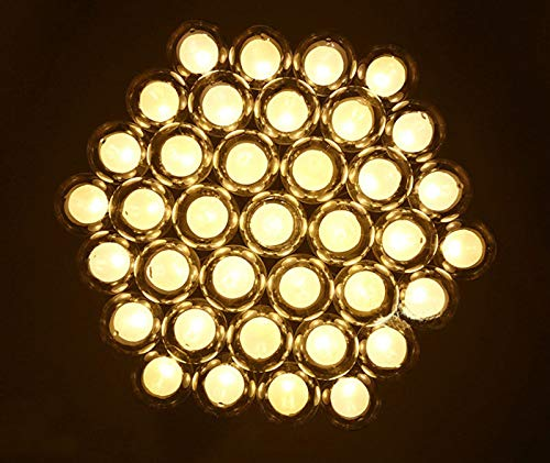 FidgetGear Modern Glass Ball Bubble LED Pendant Lamp Chandelier Ceiling Lights with G4 Bulb Cool White 15 Heads by FidgetGear (Image #8)