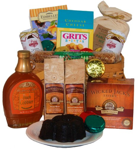 The Georgia Sampler With Rum Gift Basket