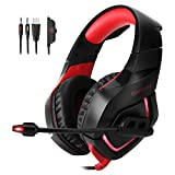 MOOSENG MS-029-Y Gaming Headset for Xbox One PS4 PC