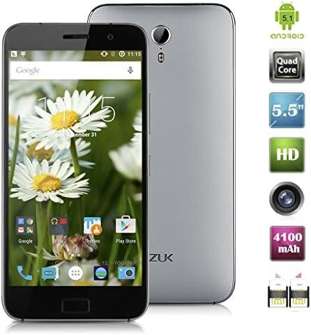 Teléfono móvil Lenovo ZUK Z1 5,5 IPS FHD Fingerprint ID 4 G, Smartphone, Android 4,1 Snapdragon 801 Quad Cores, 2,5 GHz, RAM 3 GB, ROM 64 GB, tarjeta Dual SIM bt4,1 OTG