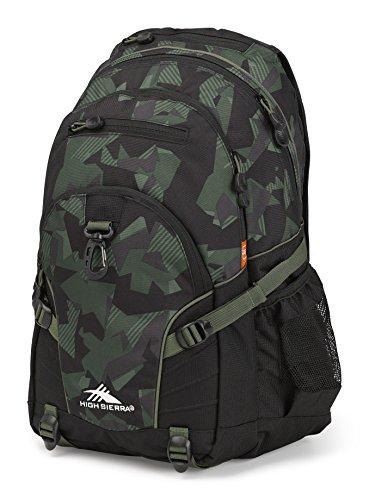 High Sierra Loop Backpack, Shattered (Pack Black Olive)