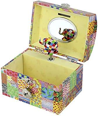 Elmer The Elephant - Caja de música para bebé Barrio Sésamo (Trousselier T83064) [Importado de Inglaterra]: Amazon.es: Juguetes y juegos