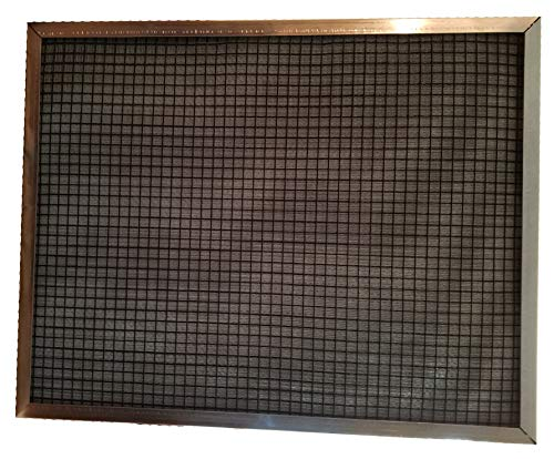 - 28x30x1 (Exact Size) BioAir Electrostatic Washable Permanent A/C Furnace Filter - DESIGNED FOR GEOTHERMAL UNITS - Save $$$ - Just Vacuum or Hose Off and Reuse