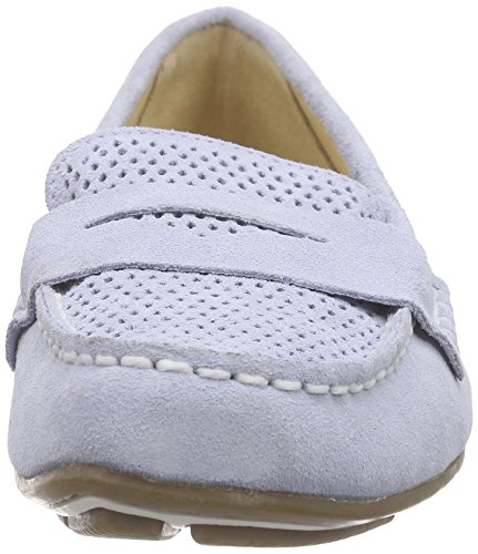 Rockport Shore Bets Ii Loafer Ice Blue Sde Perf Wash - Mocasines Mujer Hielo