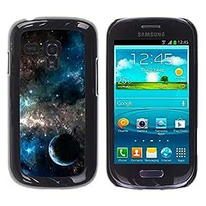 Be Good Phone Accessory // Dura Cáscara cubierta Protectora Caso Carcasa Funda de Protección para Samsung Galaxy S3 MINI NOT REGULAR! I8190 I8190N // Planets In The Galaxy