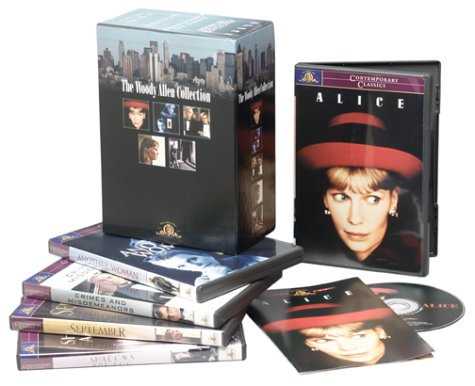 The Woody Allen Collection, Set 2 (Shadows and Fog / September / Crimes and Misdemeanors / Another Woman / Alice) - Woody Allen Box Set