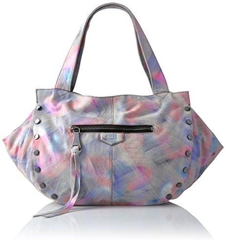 Metallic Suede Handbag - 3