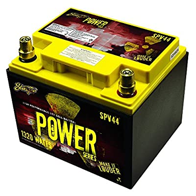 Stinger 660-Amp Power Series Dry Cell Battery with Protective Steel Case for Systems Up to 1320-Watt
