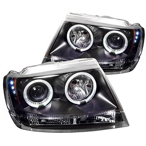 04 jeep grand cherokee headlights - 8