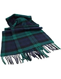 "Irish Scarf Lambswool 63"" X 12"" Made in Ireland"