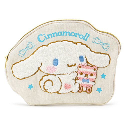 Sanrio Cinnamoroll Pen Pouch Sagara embroidery From Japan New (Famous People With Wigs)