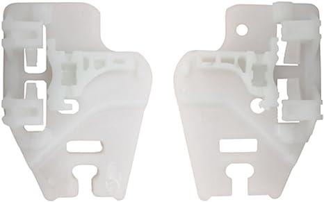 2 X Clips fen/être R/égulateur Kit de r/éparation avant gauche//droite
