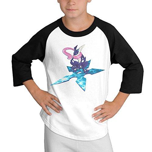 [BiuBiu Poke Greninja Adolescent 3/4 Sleeve Tee SizeL] (The Sims 3 Costume Chest)