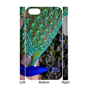 ANCASE Diy hard Case Peacock customized 3D case For Iphone 4/4s