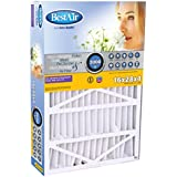BestAir SG413-BOX-13R Furnace Filter, 16 x 28 x 4, Aprilaire 413 Replacement, MERV 13