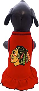 product image for All Star Dogs Chicago Blackhawks Pet Cheerleader Dress