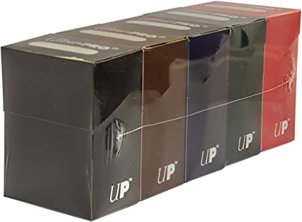 Ultra Pro 100 Count Plastic Boxes Set of 2 Toy