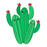 Cute Cactus Family with Faces Vinyl Decal Wrap for Pressure Cooker - Full Color