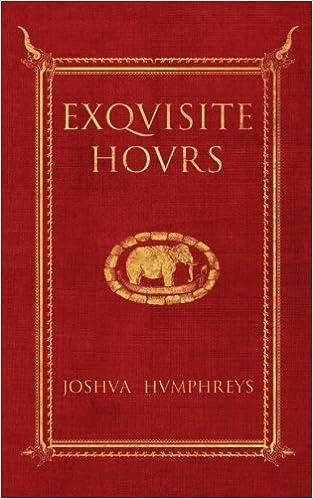 Exquisite Hours – Joshua Humphreys