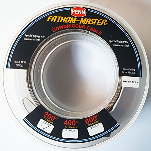 PENN Fathom-Master Downrigger Cable 200 ft