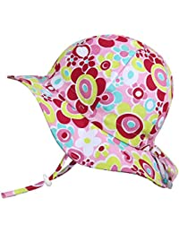 Children's Cotton Sun Protective Hats 50 UPF, Adjustable,...