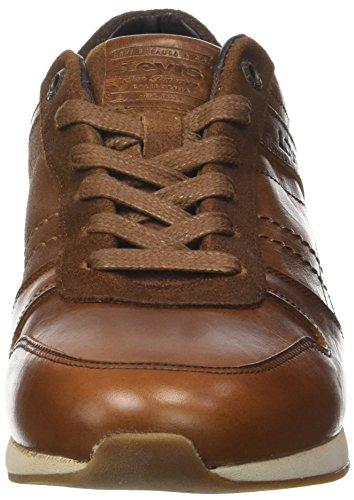 Hombre Levi'S para Bristol Brown Zapatillas Marrón Medium qrtraUw