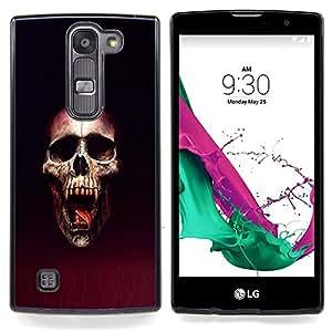 Vampire Blood Skull Caja protectora de pl¨¢stico duro Dise?ado King Case For LG Volt 2 / LG G4 Mini (G4c)