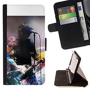 Momo Phone Case / Flip Funda de Cuero Case Cover - Firma Música Artista - Samsung Galaxy S5 V SM-G900
