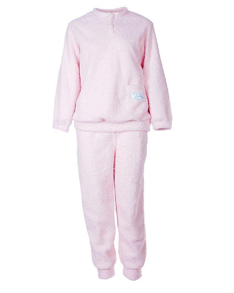 Conjunto de Pijama - Abrigada y Cómoda - Camisones Mujer de Mangas y Pantalones Largos: Amazon.es: Ropa y accesorios