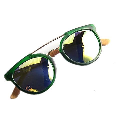 Peggy Gu Gafas de Sol Polarizadas Unisex Bamboo Leg TAC Lens ...