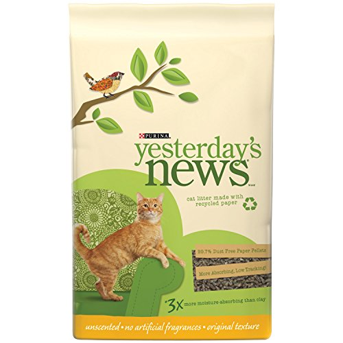 Price comparison product image Purina Yesterday's News Unscented Non-Clumping Cat Litter - (6) 5 lb. Bags