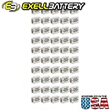 50pc Exell 411A Alkaline 15V Battery Replaces NEDA 208, 10F20, BLR121