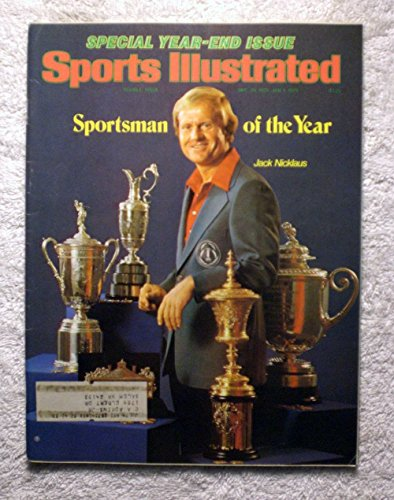 Jack Nicklaus - Sportsman of the Year - Sports Illustrated - December 25, 1978 - Golf - SI by Sports Illustrated