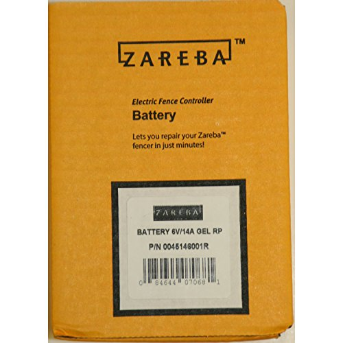 Zareba Systems 0045146001R 6V 30 Mile Solar Energizer Replacement Battery