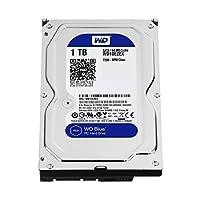 WD Blue 1TB SATA 6 Gb/s 7200 RPM 64MB Cache 3.5 Inch Desktop Hard Drive (WD10EZEX) (Certified Refurbished)