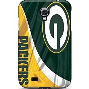 Baretty Case Cover For Galaxy S4 - Retailer Packaging Green Bay Packers Protective Case
